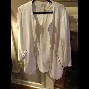 GORGEOUS Chico's Creamy White Dress Coat 16/18